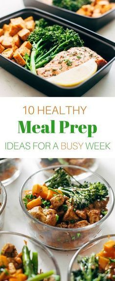 10 Healthy Meal Prep Recipes To Make Your Week A Breeze Lunch