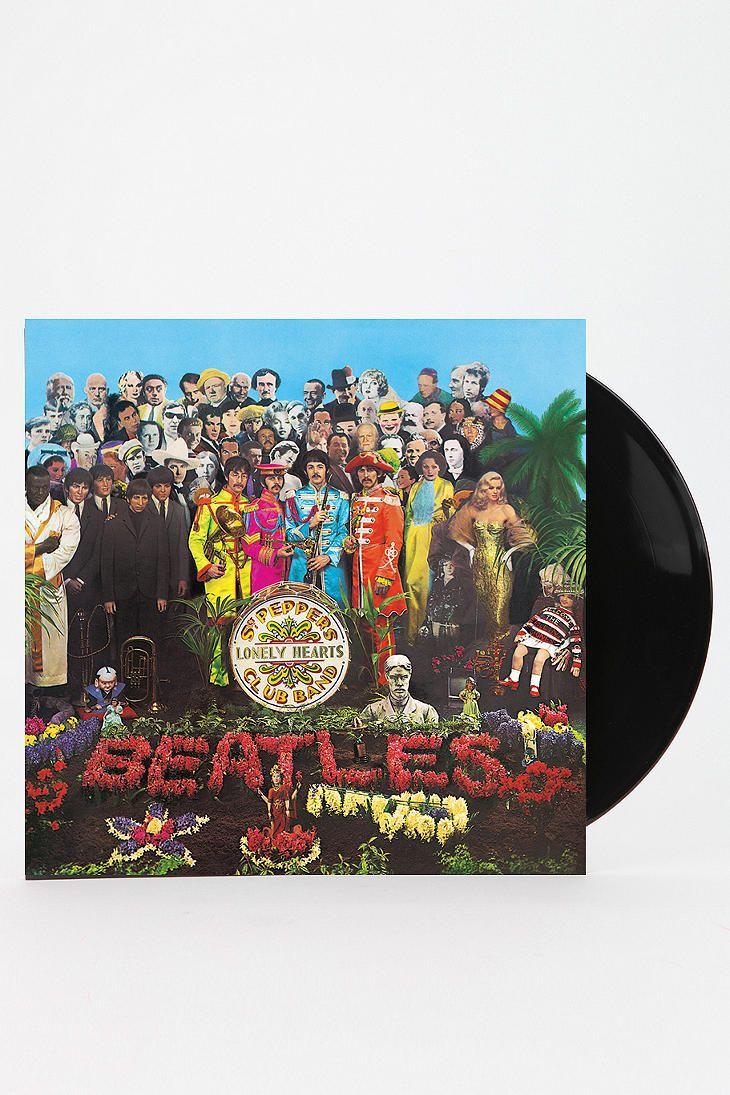 Vinyl Record Storage Shelf Lonely Heart The Beatles