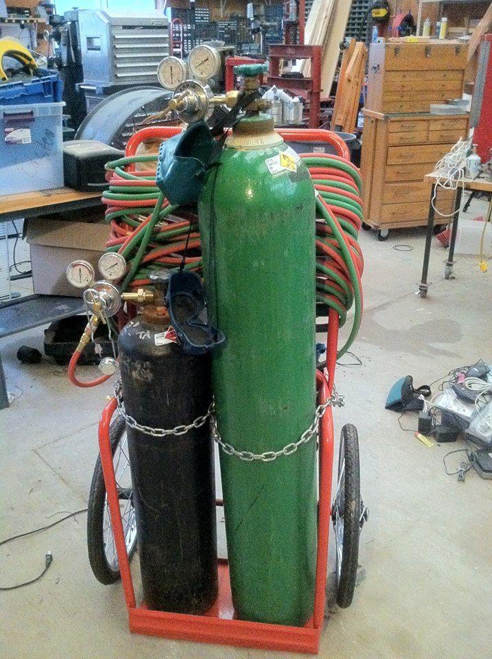 Oxy Acetylene Torch Setup Garage Shop In 2018