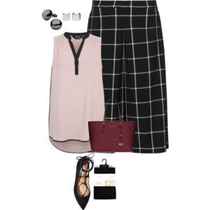 easy plus size office look