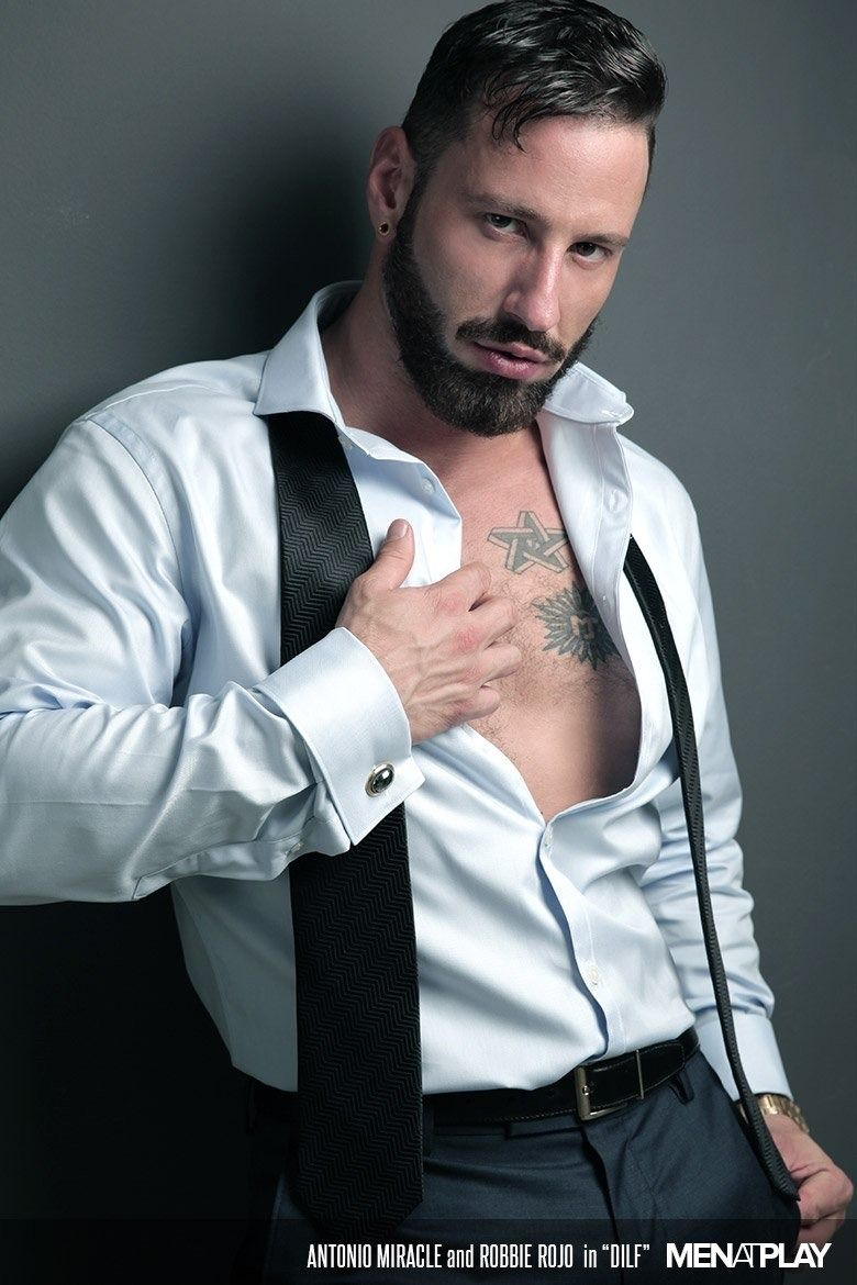 Antonio Miracle In Dilf Shirts Open Menatplay Suit