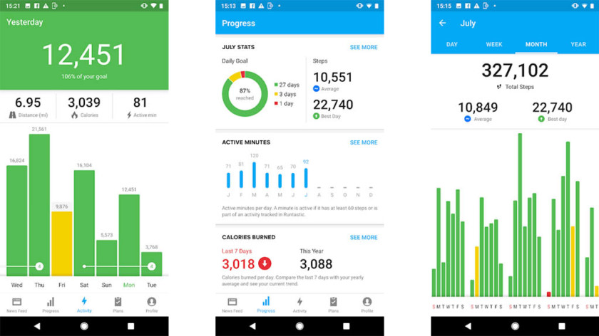 10 best pedometer apps and step counter apps for Android