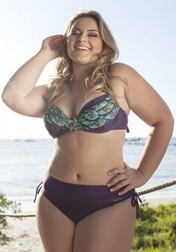 26b16a37f Plus Size Acqua Rosa Brazilian Bikini   Moda Plus size
