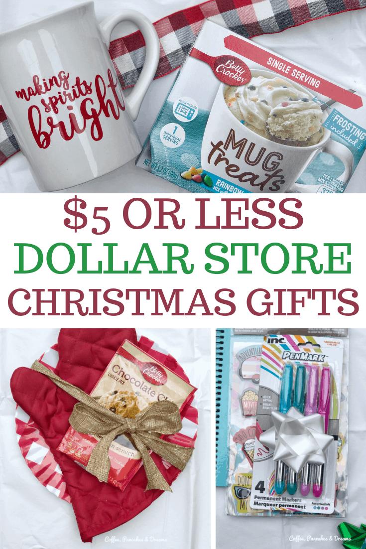 5 DIY Dollar Store Christmas Gift Ideas ($5 or less!) – Coffee, Pancakes & Dreams