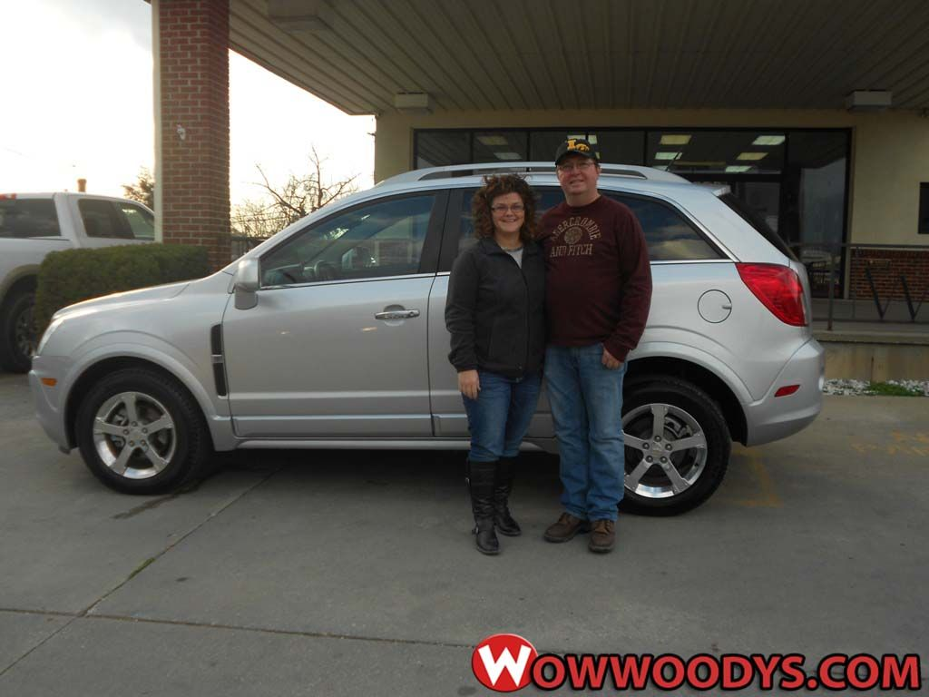 John and Shelli Byers from Chariton, Iowa purchased this