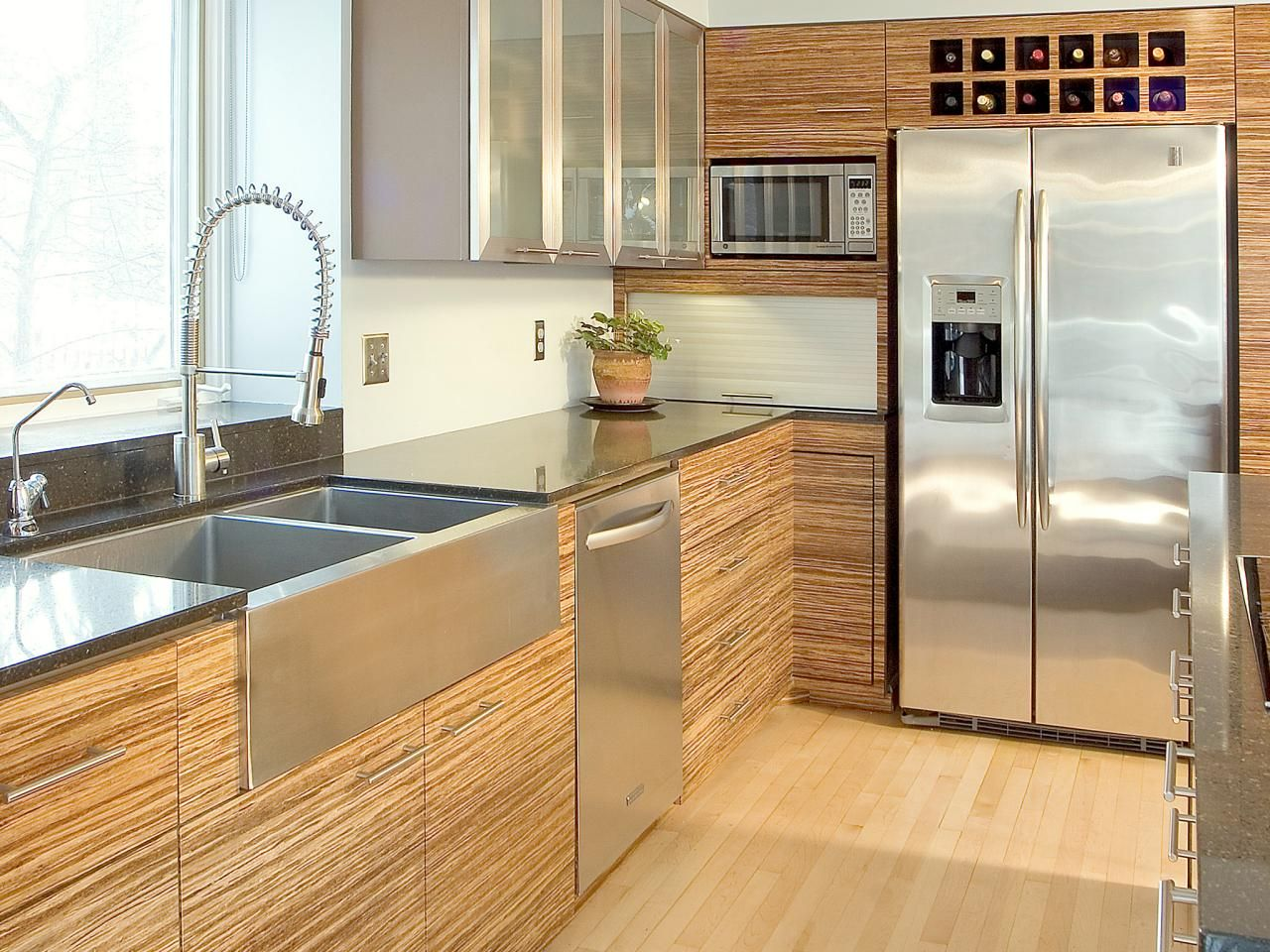 Bamboo Kitchen Cabinets Pictures Options Tips Ideas Kitchen Cabinet Styles Bamboo Kitchen Cabinets Modern Kitchen Cabinet Design
