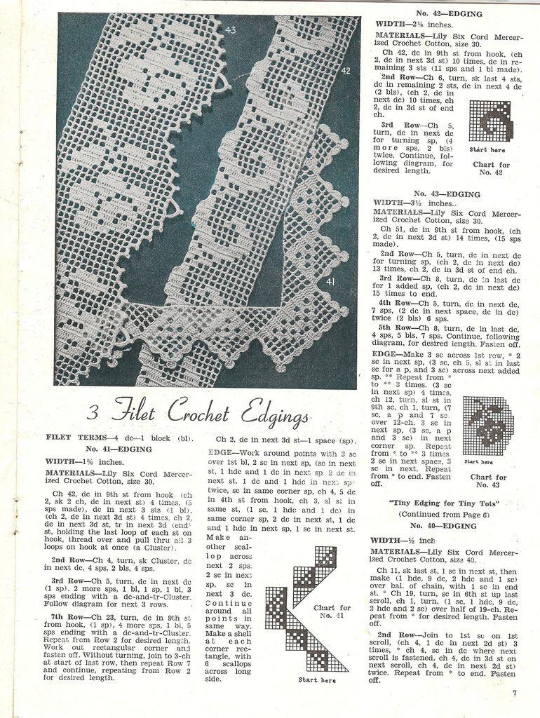 crochet edgings p2 | labores ll | Pinterest | Ganchillo, Croché y ...