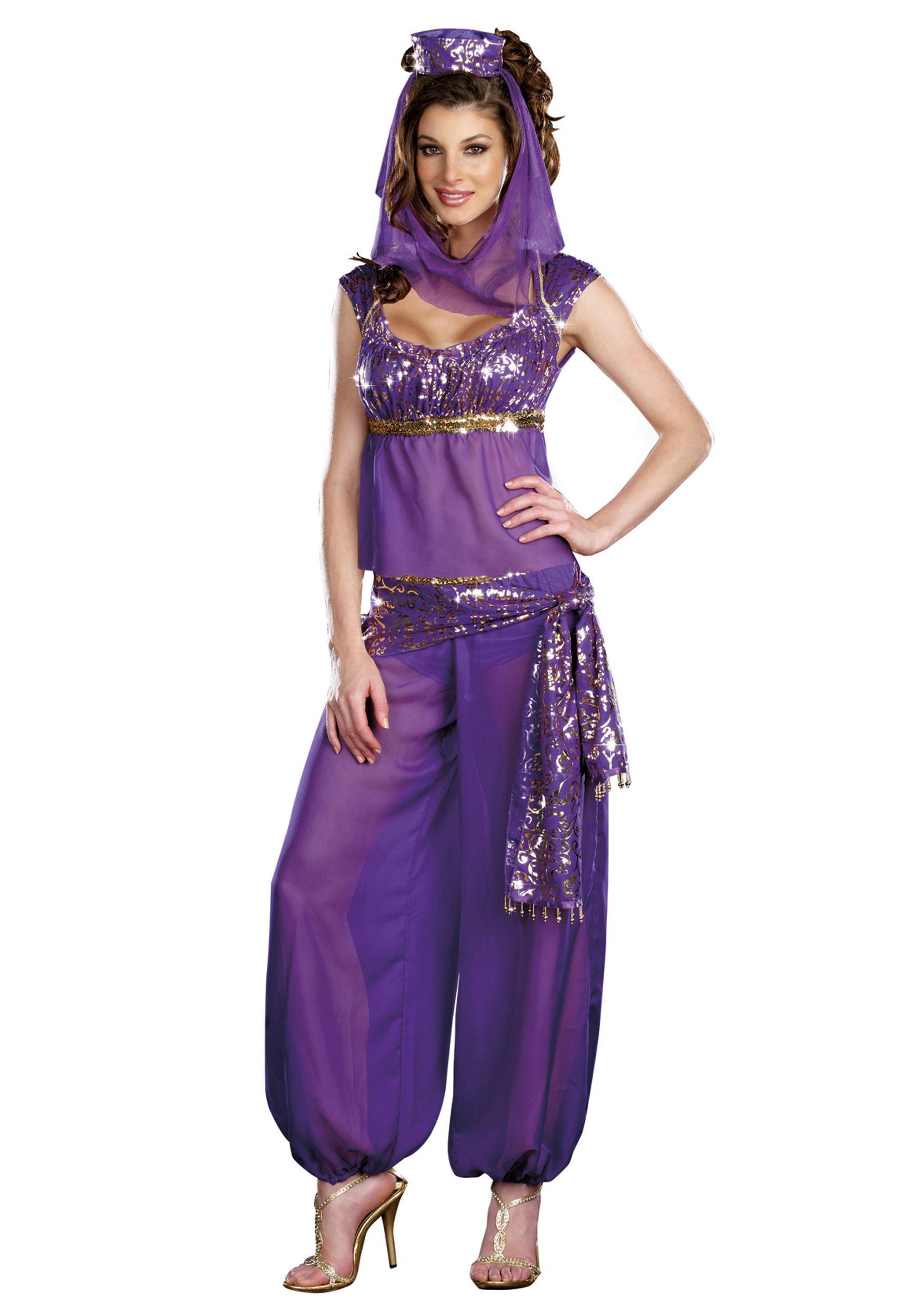 Sexy Purple Genie Costume | Disfraces | Pinterest | Halloween ...