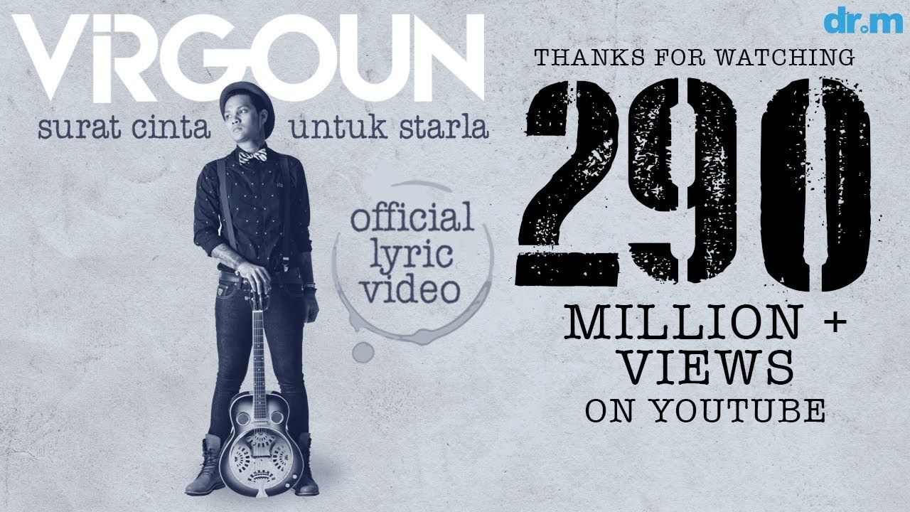 Virgoun Surat Cinta Untuk Starla (Official Lyric Video