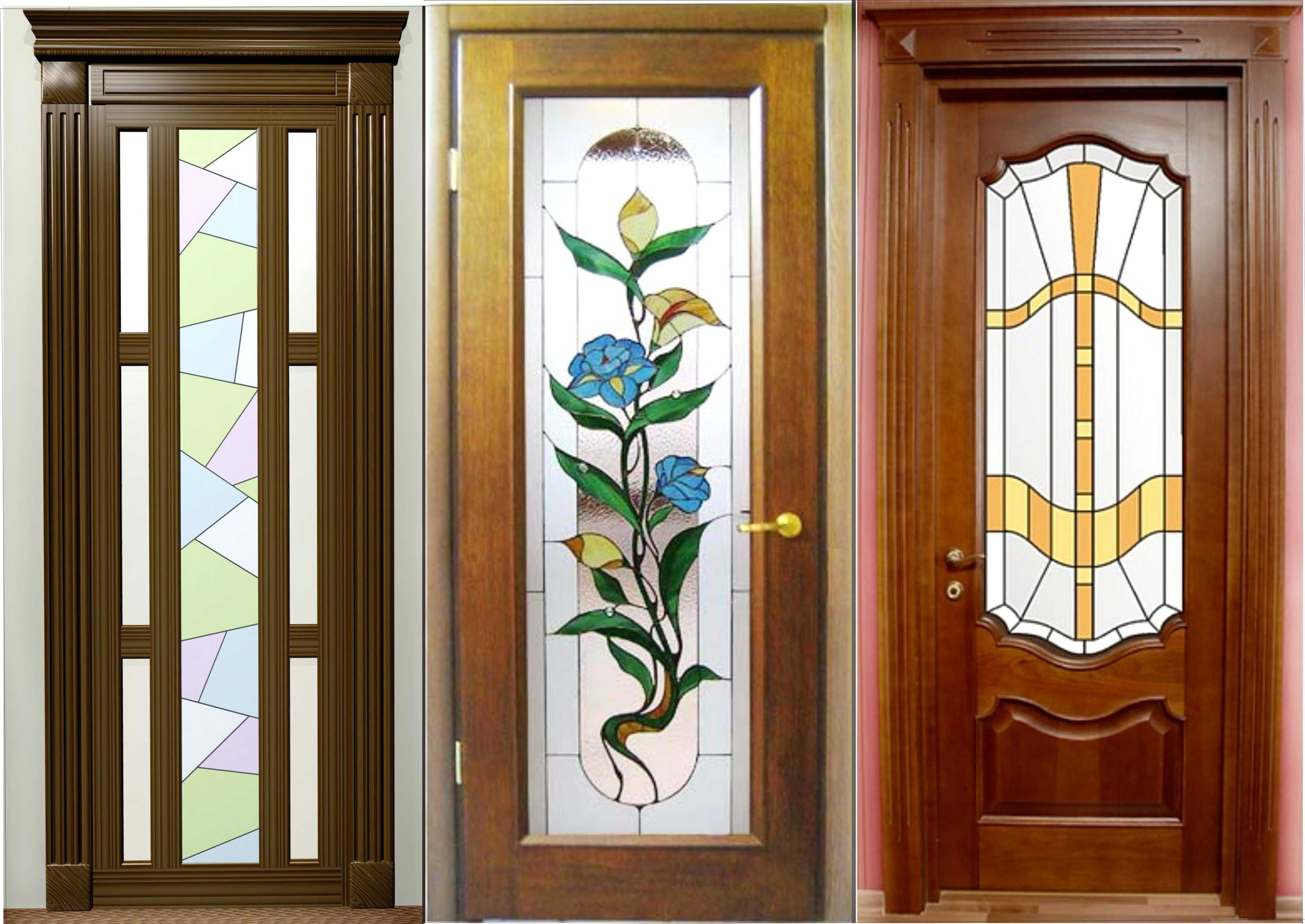 Beautiful Stainedglass.ru | Modern Wooden Interior Doors With Stained Glass