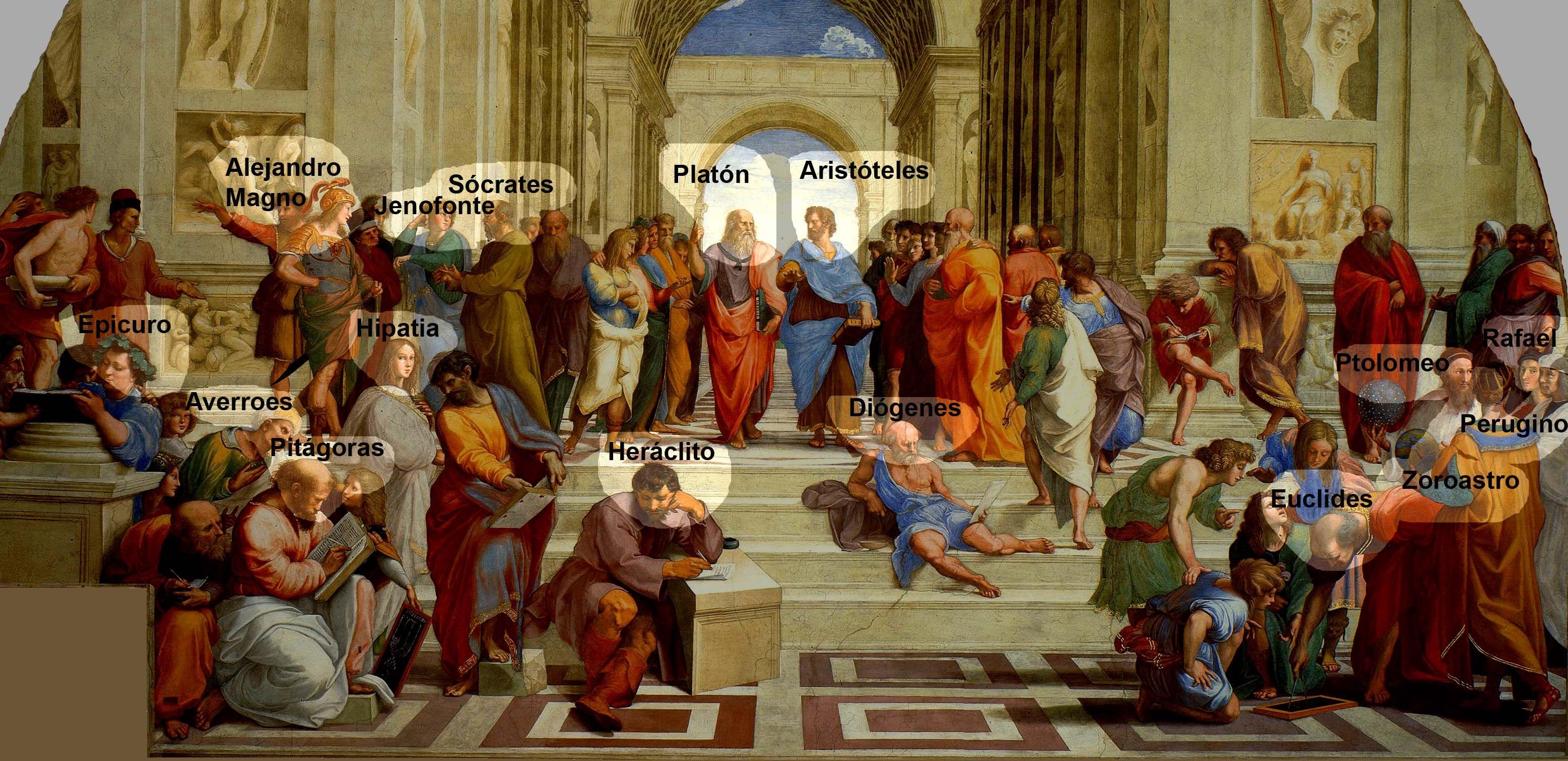La escuela de Atenas. Rafael | La escuela de atenas, Academia de atenas,  Arte clásico