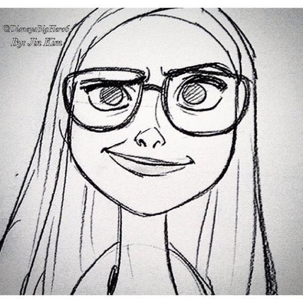 Disney Big Hero 6 ⚽ on | Dibujo, Dibujos creativos y Animacion ...