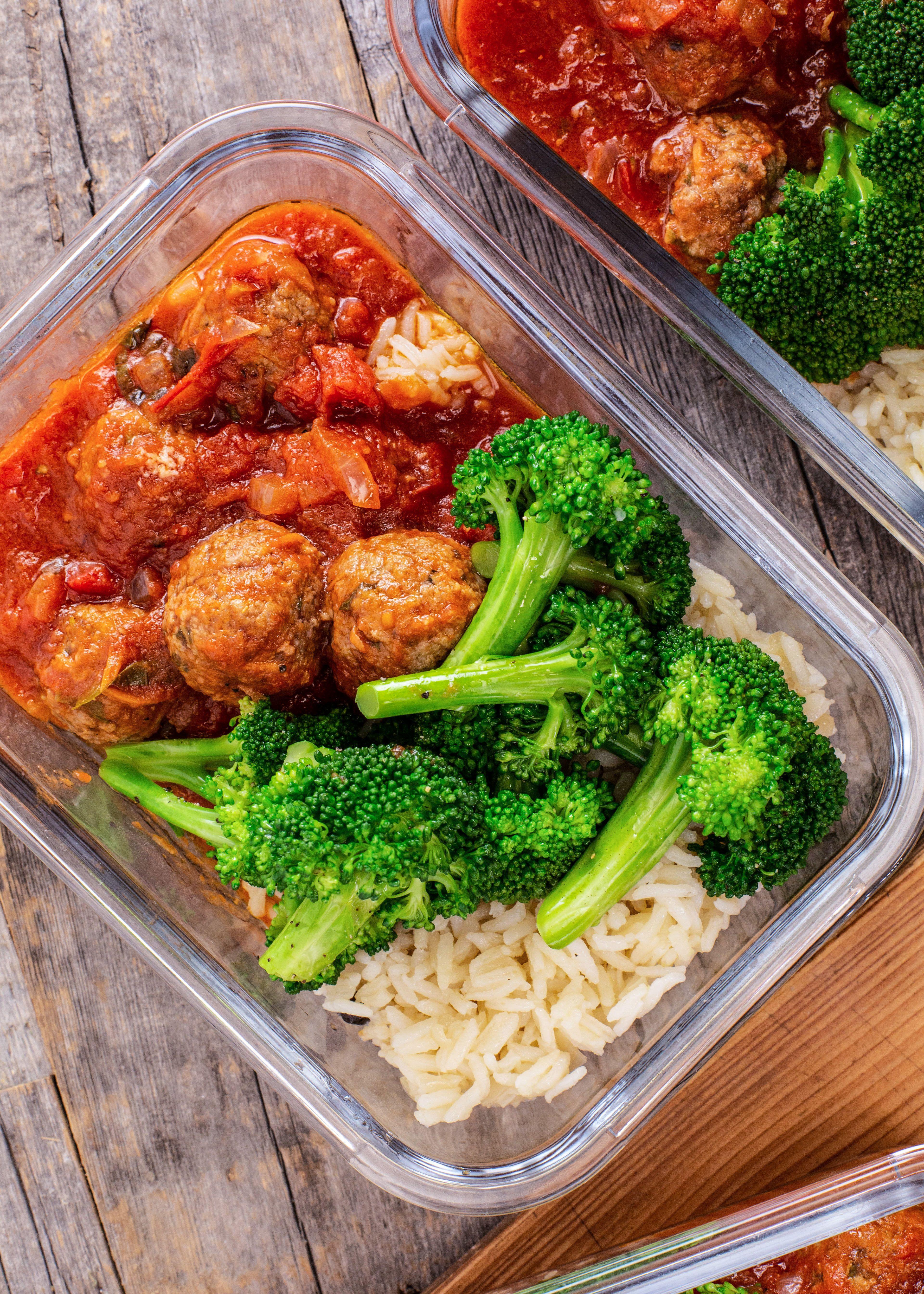 Make Ahead Meatball Meal Recipe Healthy Meal Prep Meals Food