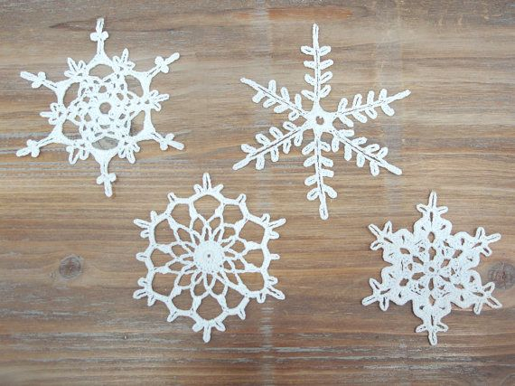wonderful crochet snowflakes...for christmas decoration by katrinshine