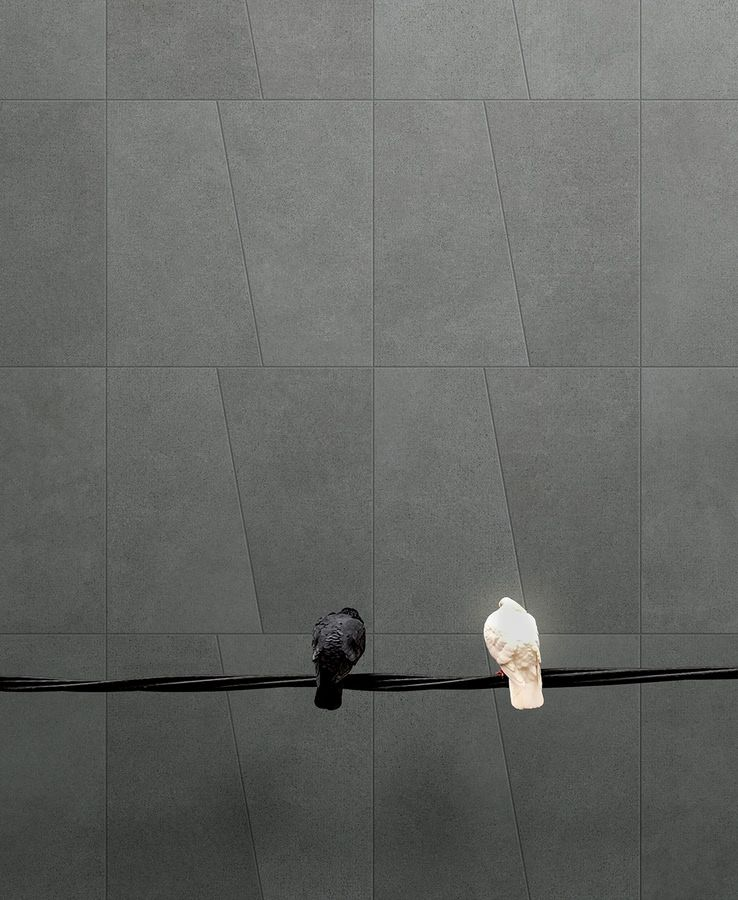 Fondovalle Match 3 łazienka Kuchnia Efekt Efekt Betonu