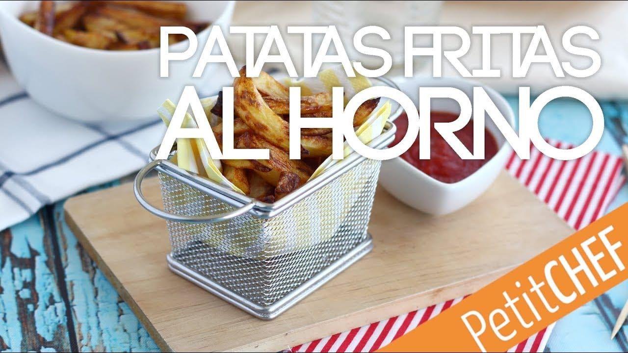 Patatas fritas al horno deliciosas