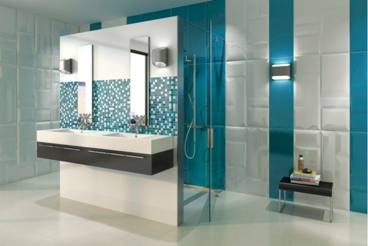 Nice 39 best bathroom tile collection for minimalist home lavoro a