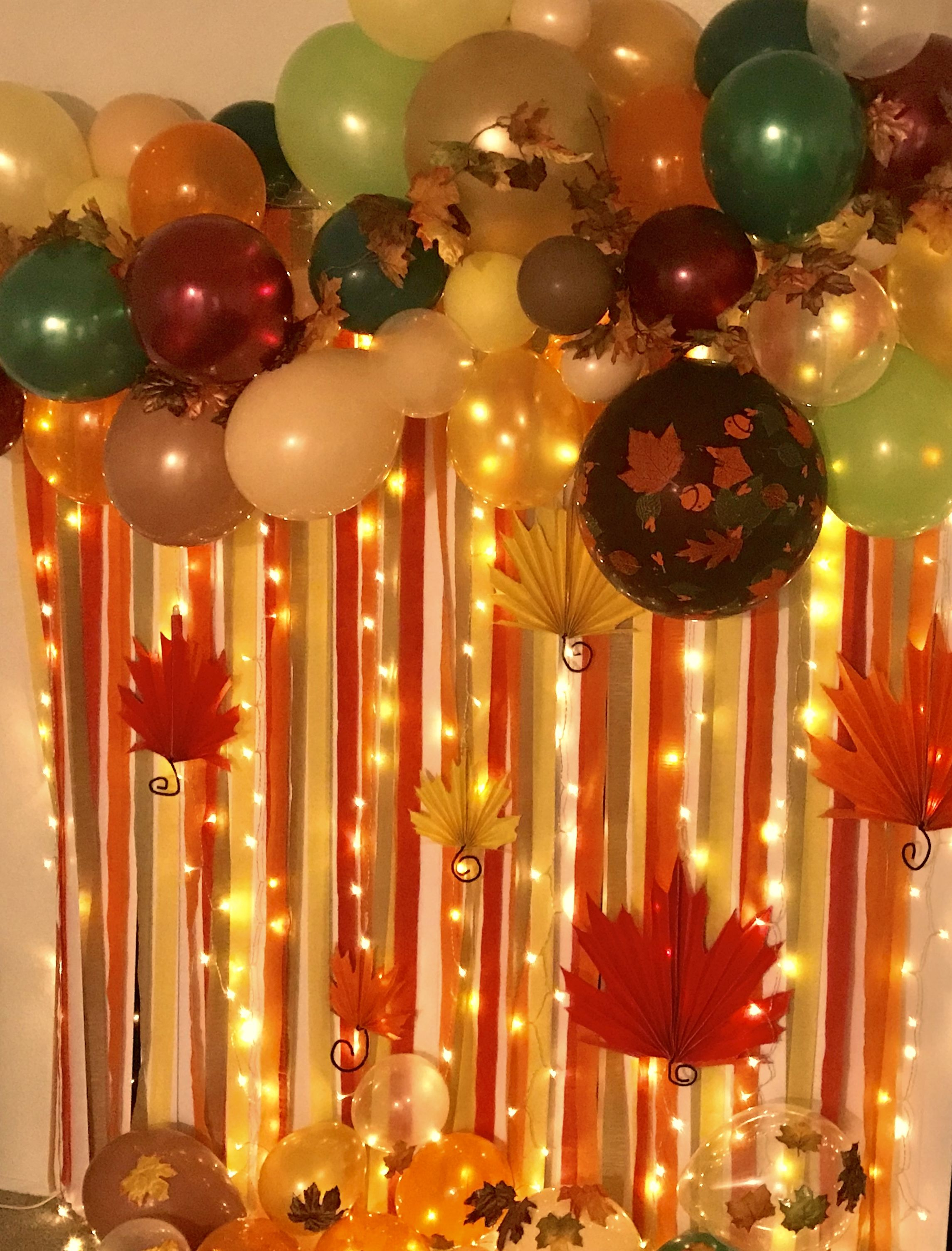 Thanksgiving Backdrop! Autumn Backdrop Ideas! Fall Decorating Ideas! : thanksgiving party decoration ideas - www.pureclipart.com