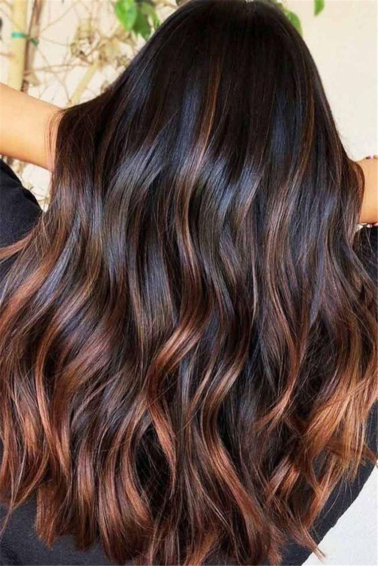 25 chestnut brown hair colors ideas -2019 spring hair colors