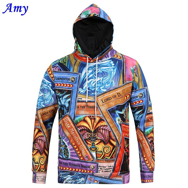 cf086e68c19 Click to Buy    2016 New Hot Autumn and Winter Cartoon Printing Hooded.