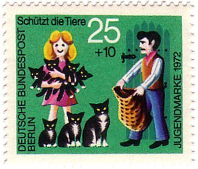 German postage stamp ... HAHA! So me!!