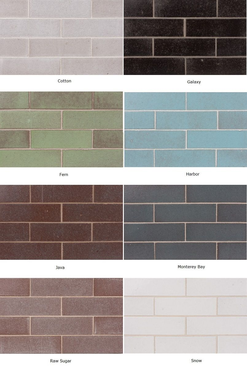 Glazed Thin Brick By Fireclay Tile Subway Shape But