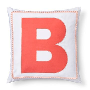 Pillowfort Letter Monogram