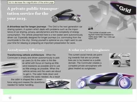 The Pilkington Vehicle Design Awards 2010 via #CarDesignNews