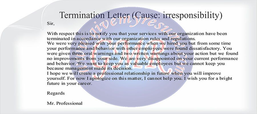 sample business letters appointment new bank account and - letters of termination of employment examples