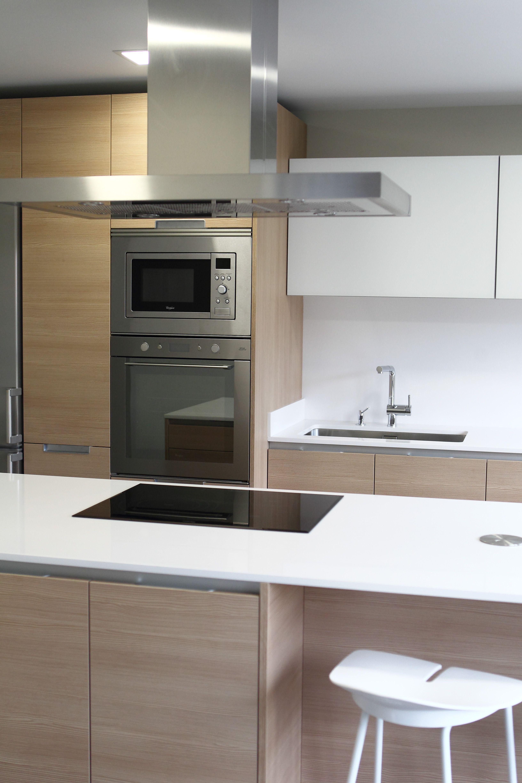 Cocina SANTOS Avilés - mas conjunto de electrodomésticos Whirlpool ...
