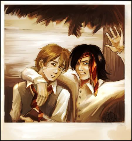 moony and padfoot - the marauders
