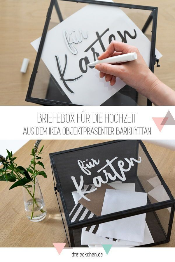 Photo of DIY and decorating ideas for weddings with IKEA: seating arrangement, table numbers and letter box #dreimalanders // advertising ›triangle – lifestyle blog #dreimalanders