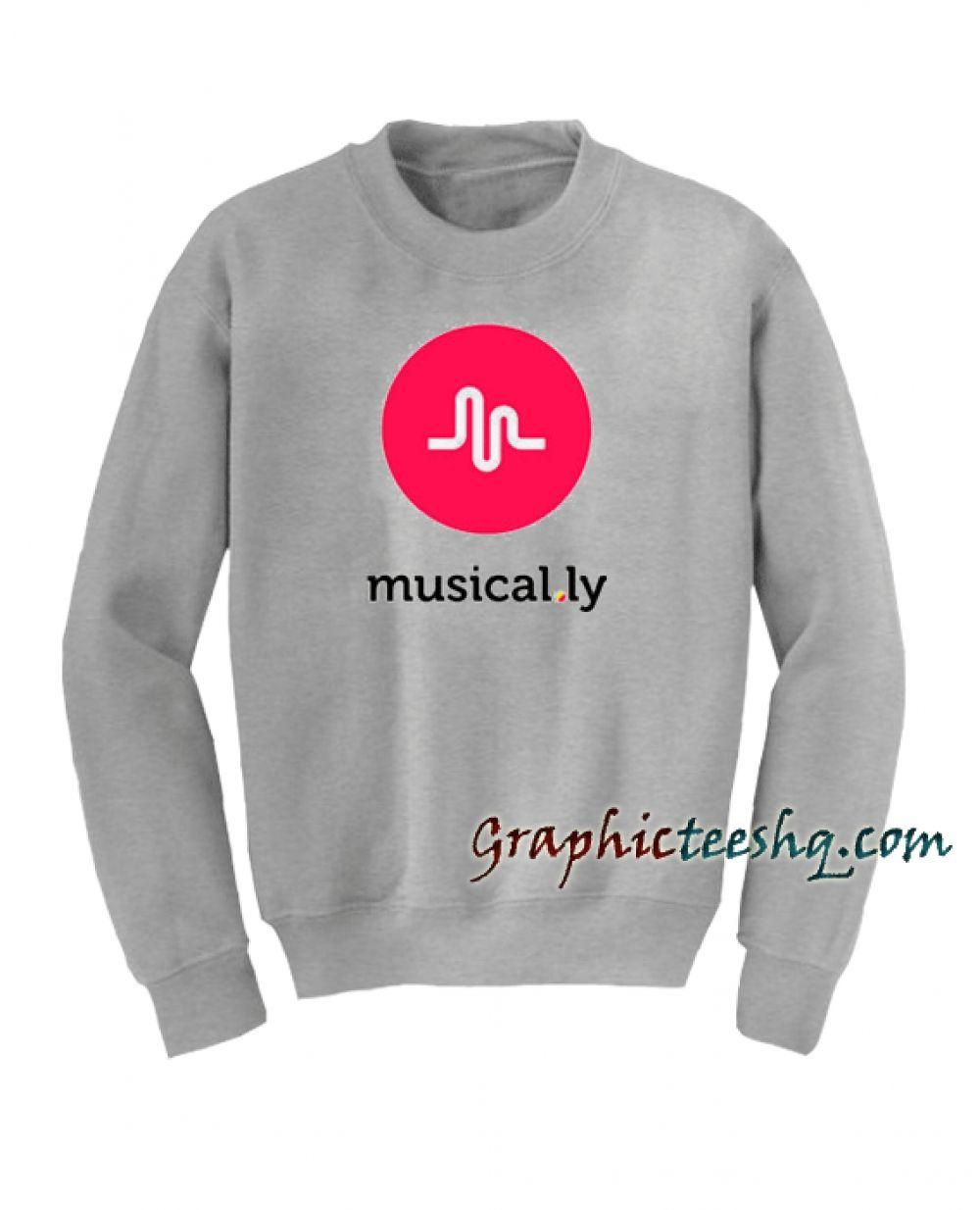 765fef2d2e42 Musical.ly Sweatshirt Price: 23.00 #style #fashion #tshirts #tee #