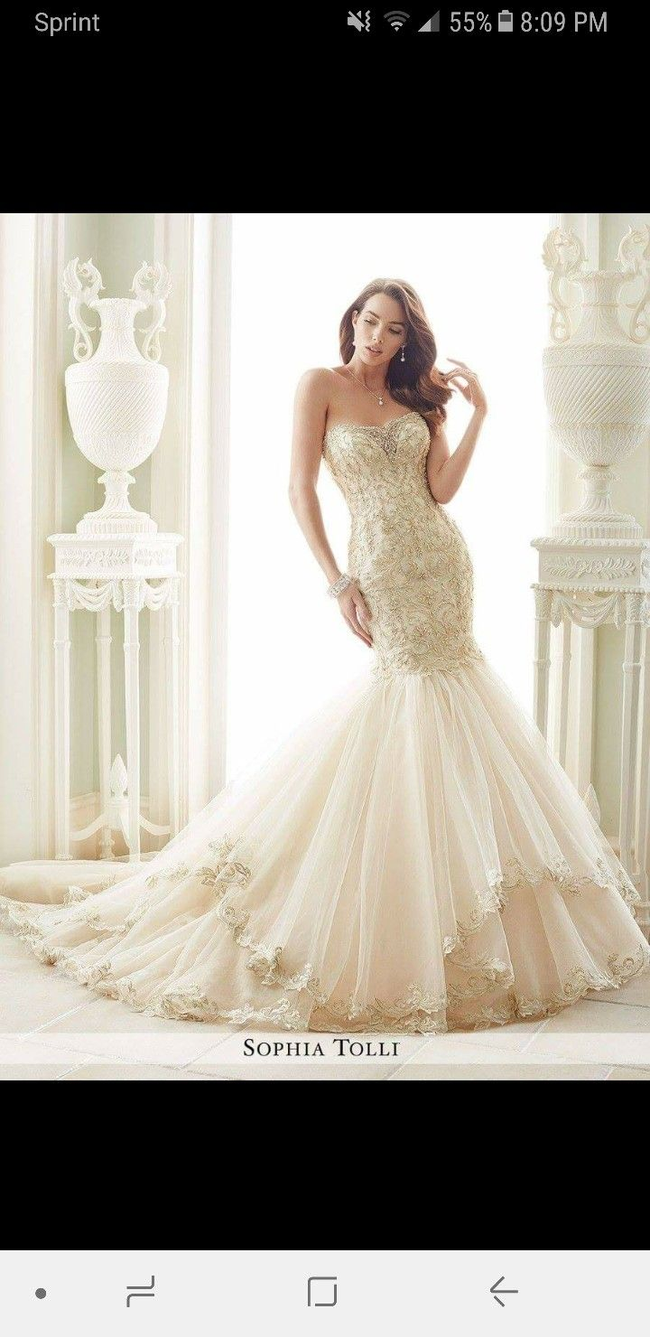 Sherri hill lace wedding dress  Pin by Brianna Hamilton on uu she lived happily ever after  Pinterest