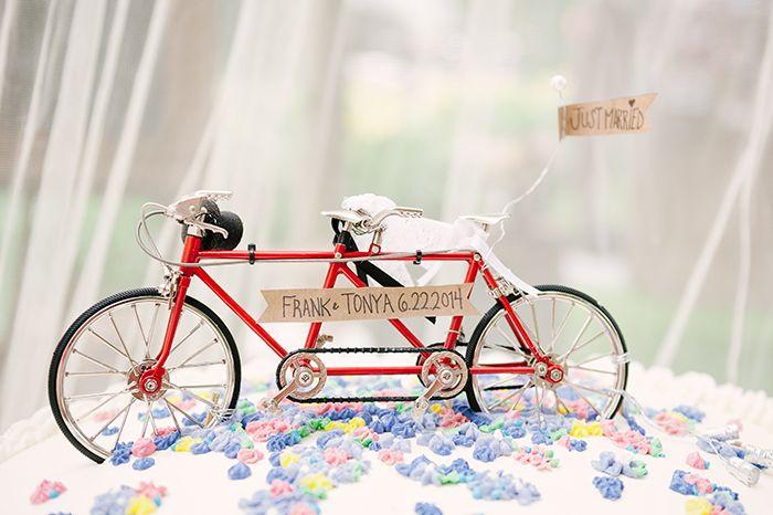A Whimsical Diy Bike Themed Wedding By Ardita Kola Party