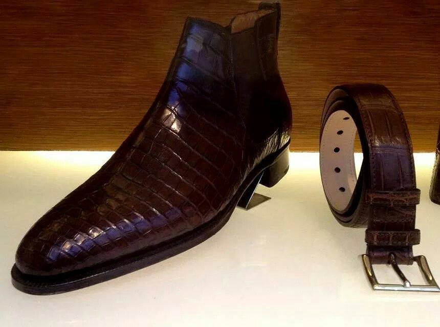 John Lobb Crocodile Shoes Price