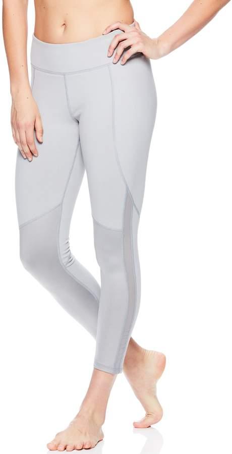 23041c01c4 Women's Gaiam Shiva Mesh Yoga Mid-Rise Ankle Leggings#affiliatelink ...