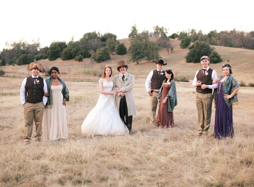 Julian Wedding By Desi Baytan Photography Westerns Bridal Parties