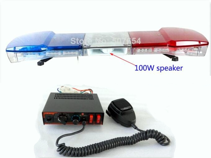 303 05 Buy Here Http Aliwtc Worldwells Pw Go Php T 32785485058 Dc12v 120cm 64w Led Car Warning Lightbar Police Lights Fireman Light Emergency Lighting
