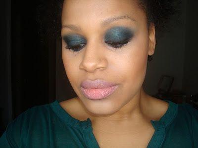 Maria from Make up blah: FOTD - Greens & Darks :)