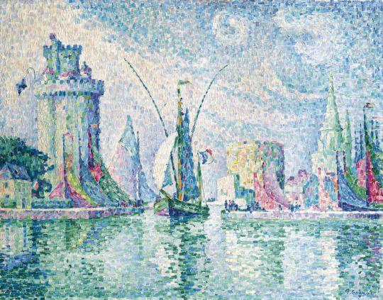 The Green Towers, La Rochelle by Paul Signac