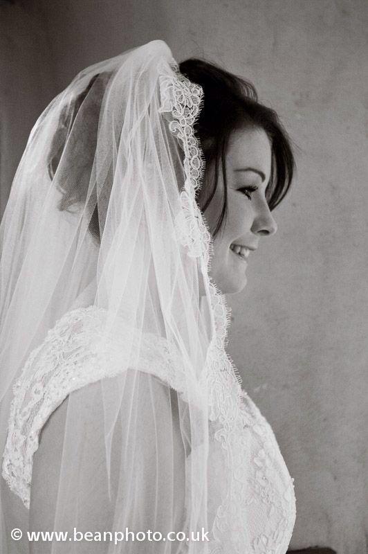 Catwalk wedding Fayre 2013, lace edge veil