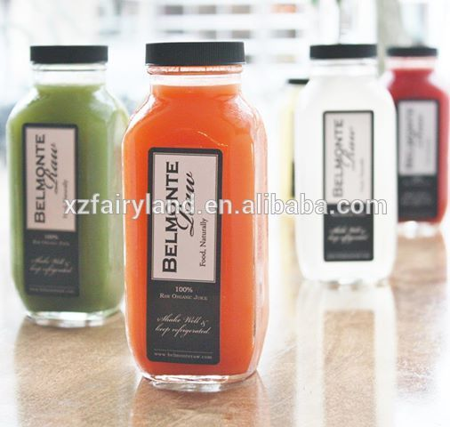 French Fresh Square Glass Beverage Bottle , Find Complete Details - fresh blueprint cleanse hpp
