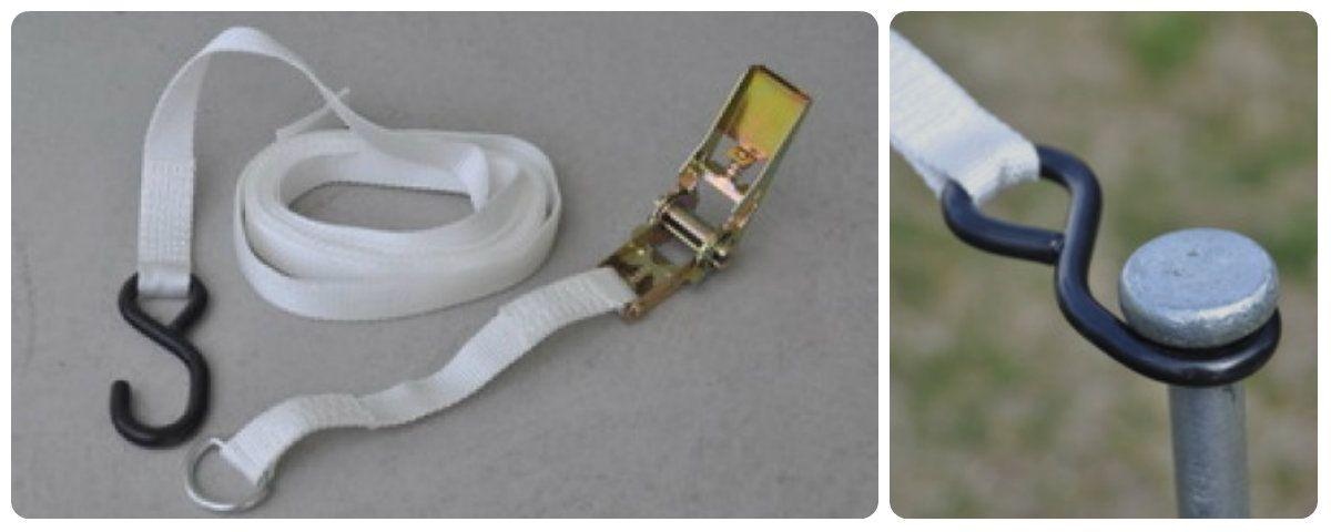 how to loosen stanley ratchet straps