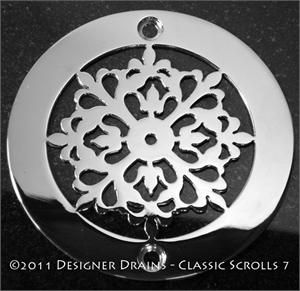 Designer Drains Classic Motif No. 7