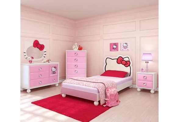 Wish   Hello Kitty Bedroom In A Box