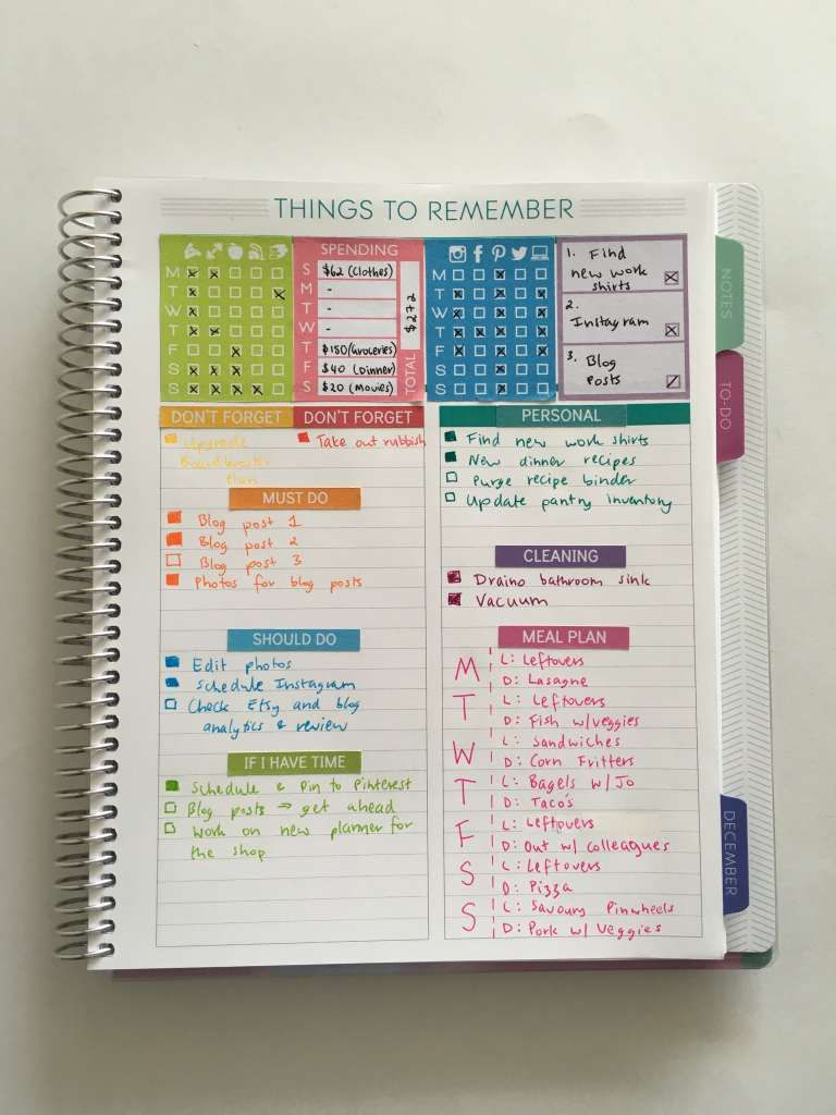 50 Category Ideas For Color Coding Your Planner All About Planners Passion Planner Planner Paper Planner Book