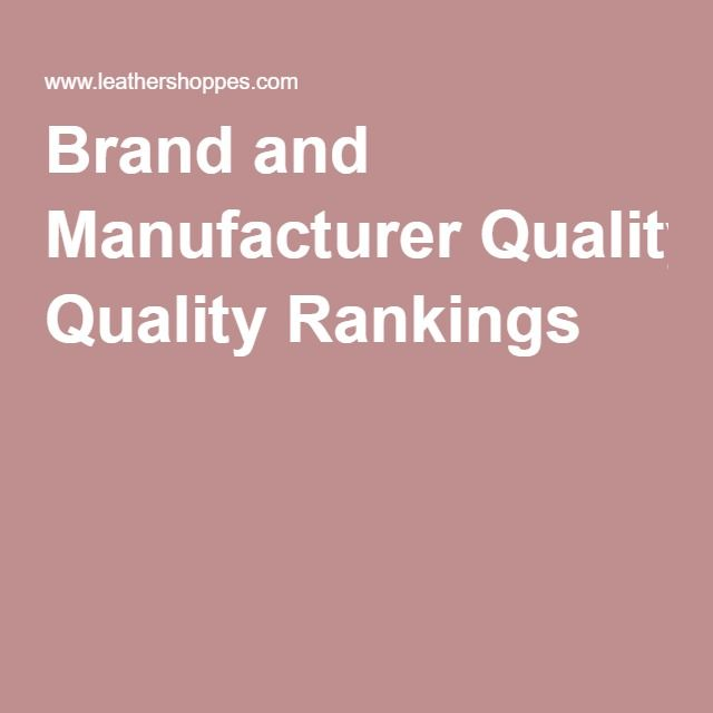 Leather Furniture Rankings Brand And Manufacturer Quality