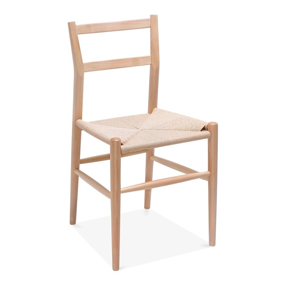 Pleasant Danish Designs Leon Beech Wood Dining Chair With Woven Seat Ibusinesslaw Wood Chair Design Ideas Ibusinesslaworg
