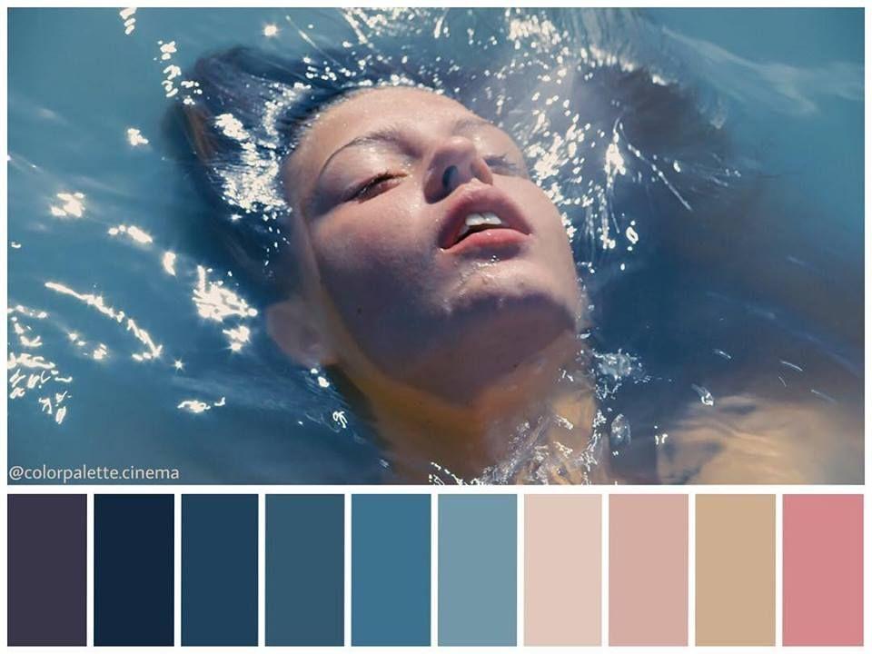 La Vida De Adele Movie Color Palette Blue Is The Warmest Colour Color Film